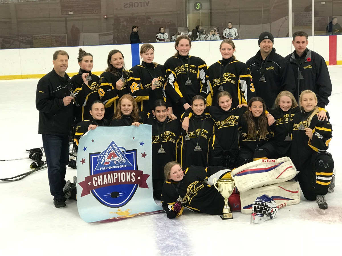 Bantam B – Ancaster Tournament Champs!