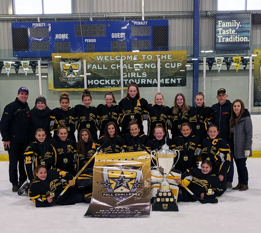 Bantam A Fall Cup Champs